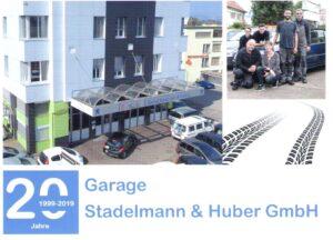 Flyer Stadelmann & Huber GmbH