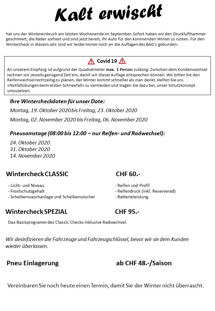 Wintercheck 2020 - HP