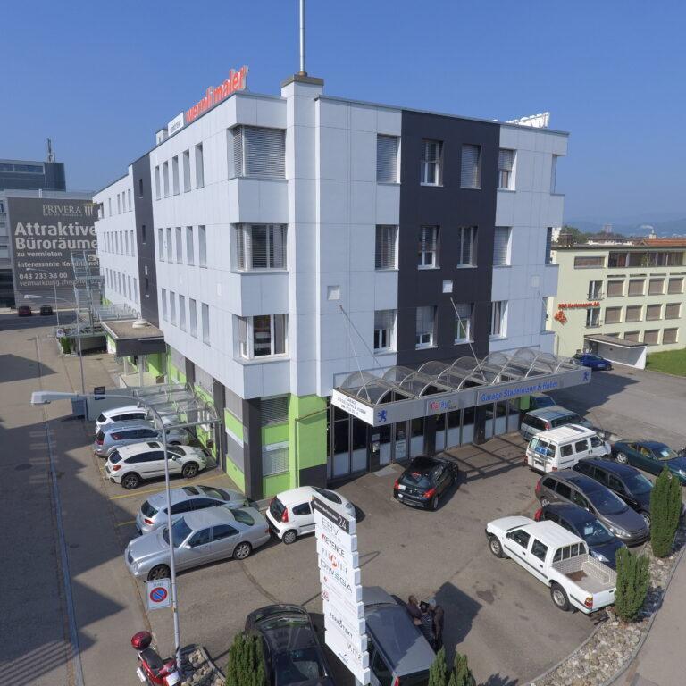 Luftaufnahme Garage Stadelmann & Huber GmbH